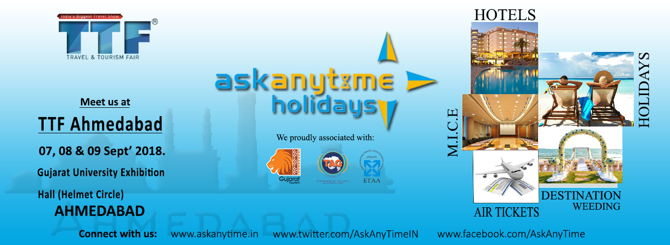 Ask Any Time TTF Ahmedabad Banner